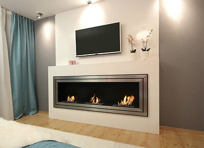 """ Juliet 1800 "" Safe Large HQ Bio Ethanol  Bio fireplaces + warranty & gifts"