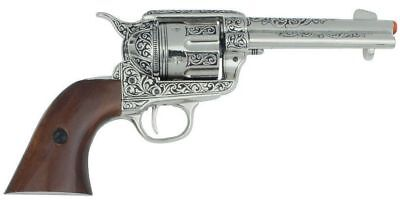 Authentic Old West  CA Classics M1873 Engraved Fast Draw Revolver Non-Firing Gun
