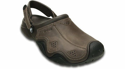 Crocs Swiftwater Mens Leather Clog