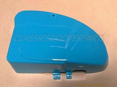 Honda C70 Passport 1982-84 battery side BLUE COVER U.S. Model PLEASE READ H2626