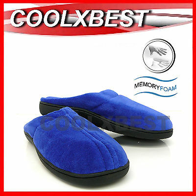 New Unisex Memory Foam Slippers Anti Fatigue Indoor / Outdoor + Bonus Insoles