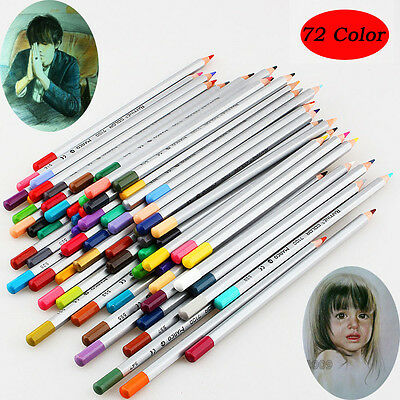 72Color Oil Base Marco Fine Art Drawing Non-toxic Pencils For Artist Sketch