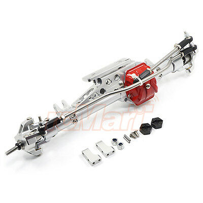 Xtra Speed Aluminum Alloy Front Axle Silver Axial Wraith RC Cars #XS-AW230038SV