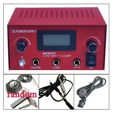 tatouage Alimentation tattoo Power Supply Pédale Interrupteur Clip Cords best rd