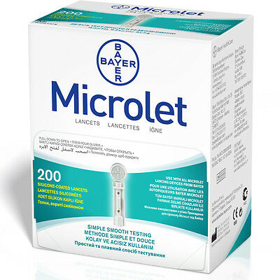 Bayer Microlet 200 Lancets