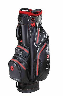 Big Max Cartbag - Aqua Sport - wasserdicht - black/red,  Neu!