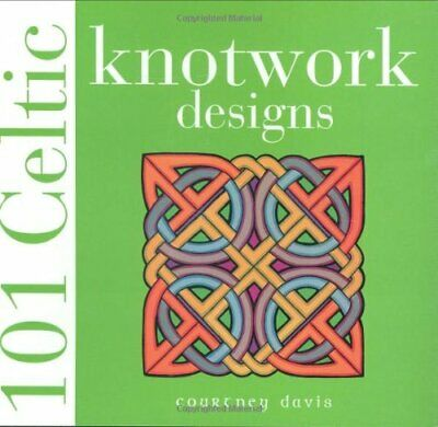 101 Celtic Knotwork Designs by Davis, Courtney Paperback Book The Cheap Fast