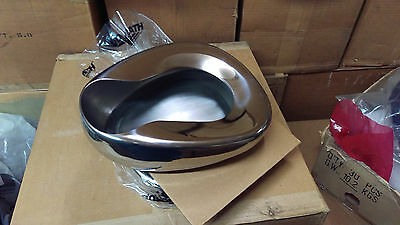 NOS Surplus Army Medical Vollrath Stainless Steel Bed Pan New Bedpan
