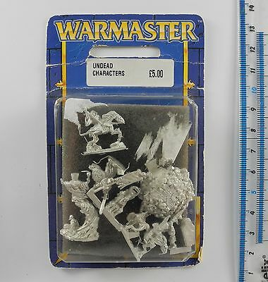 Warmaster UNDEAD CHARACTERS (a) Metal Skeletons Army Blister Pack 1999 K90