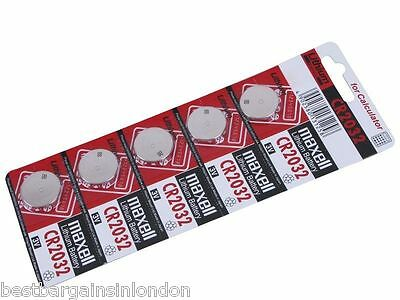 5/10/20/50/100 Genuine Maxell CR2032 3V Lithium Button Coin Cells batteries UK