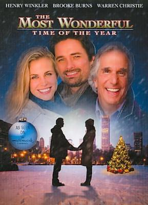 The Most Wonderful Time Of The Year New Dvd