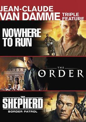 Nowhere To Run/The Order/The Shepherd: Border Patrol New Dvd