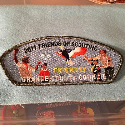 "Boy Scouts - 2011 Friends of Scouting ""Friendly"" Orange County Council csp"
