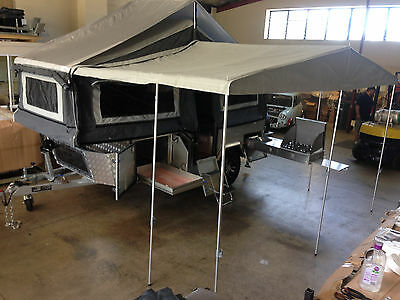 2019 Forward Fold Hardfloor Camper Trailer, Off Road, 4x4,