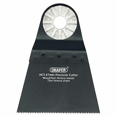 Draper HCS Precision Wood Work Cutter / Cutting - 68mm - 14 TPI - 26116