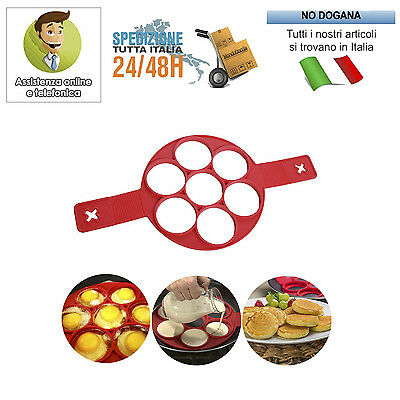 Stampo Per Pancakes In Silicone Cucina Antiaderente Flippin Fantastic Omelette