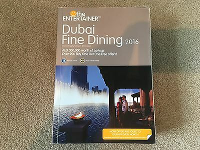 ** JUST £1.50 EACH **  Entertainer FINE DINING Dubai 2016 Vouchers