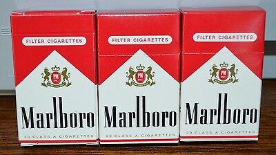 Lot of 3 Rare Marlboro Wooden Stick Matches NEW in Box Made in Germany 1996