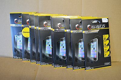 Lot of 10 Sealed Zagg Invisible Shield Dry Full Body Screen Protectors iPhone 5C