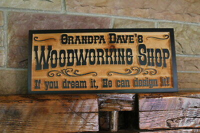 Custom Carved Wood Sign Personalized Plaque Rustic Signs