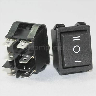 Light Country R5 (Canal R Series) Rocker Switch Black up to 20 A / 250 V 10T85