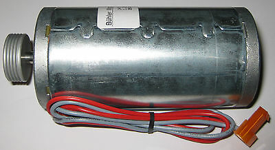 24 VDC High Torque PM Buhler Motor w/ Pulley - 4000 RPM - 6mm Shaft - 2 Pin Plug