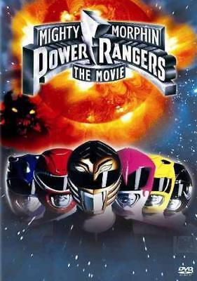 Mighty Morphin Power Rangers: The Movie New Dvd