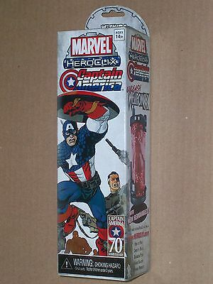 Captain America Heroclix 5 figure booster pack New Sealed