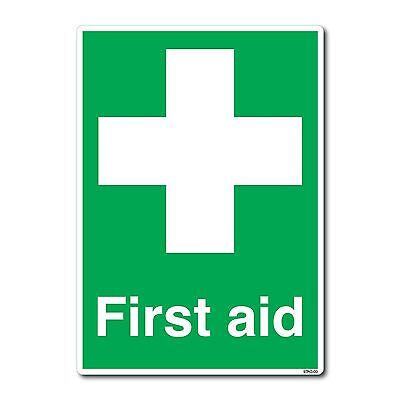First AidSign A4 210x297mm Safety Self-adhesive Vinyl Sticker
