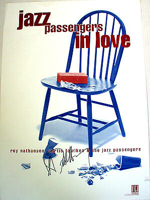 Debbie Harry / Jazz Passengers in Love / Autographed Poster