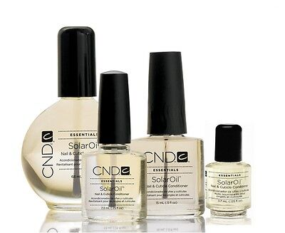 Cnd Essentials Solar Oil Nail And Cuticle Conditioner - 3.7Ml/7.3Ml/15Ml/68Ml