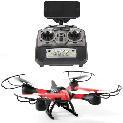 Remote Controlled Drone HD Camera Video/Photo for Smartphone/iPhone 6s/6/Android
