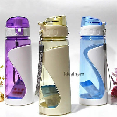 Outdoor 700ML Sports Bike Bicycle Cycling Water Bottle Drink Cup BPA FREE
