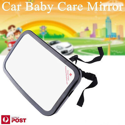 New Car Auto Back Seat Rearview Baby Infant Safety Mirror Headrest Mount AU