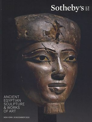 Sotheby's  Ancient Egyptian Sculpture & Works of Art  08/12/2015 HB
