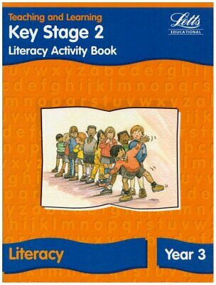 KS2 Literacy Activity Book: Year 3 (Letts Primary Ac... by Barker, Ray Paperback