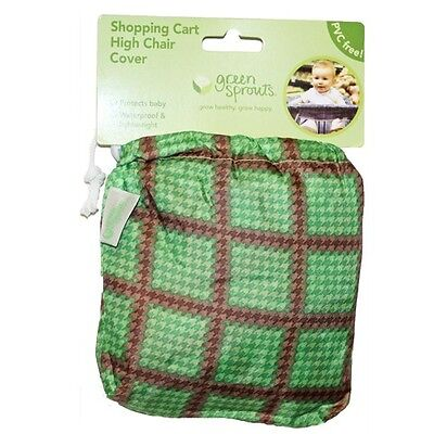 Green Sprouts Green Shopping Cart High Chair Cover Baby Waterproof PVC FREE NEW