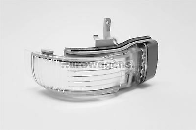 VW Touran 03-10 LED Clear Mirror Repeater Indicator Driver Right Off Side O/S