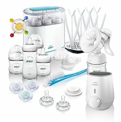Philips AVENT Naturnah Starter-Set MEGA-SET II All-in-One - mit viel Zubehör -