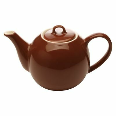 NEW Maxwell & Williams Cafe Culture Teapot, 400ml in Brown, Green