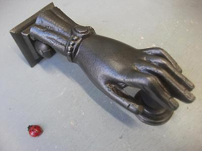 ladies hand Cast Iron Door Knocker -  copy