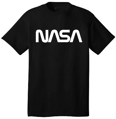 Nasa Logo T-Shirt Short Sleeve Outer Space Astronaut Retro 60 s 70 s 80 s  Style 2a4127a760af