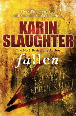 Fallen (Georgia) by Slaughter, Karin Hardback Book The Cheap Fast Free Post