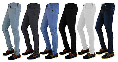 Mens Boy's G72 Denim Super Stretch Skinny Slim Fit Jeans All Waist And Leg Sizes