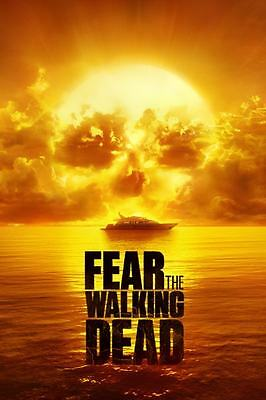 FEAR THE WALKING DEAD Season 2 TV show logo fridge magnet - new!