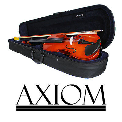 Axiom Beginners Violin Outfit 1/2 Size Childrens Half Size Ideal First Violin