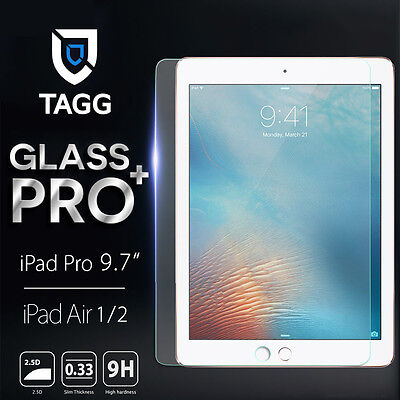 """TAGG Premium Tempered Glass Screen Protector For Apple iPad Pro 9.7 """" AIR 1 / 2"""