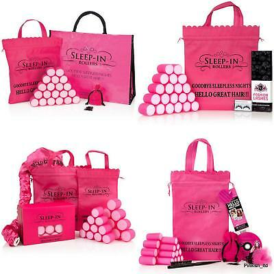 Sleep in Rollers Gift Set Short Hair, Mega, Original & Beauty with Eyelashes