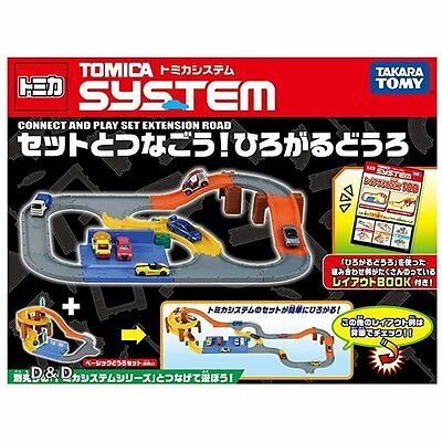 Takara Tomy Tomica Road System Connecting road SET A playset Set toys (NO CARS)