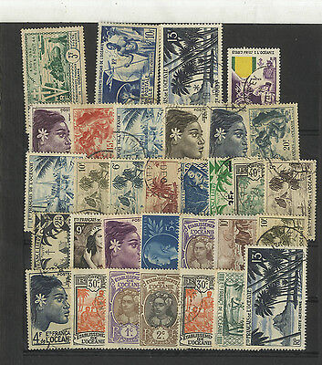Lot 32 Timbres  Oceanie